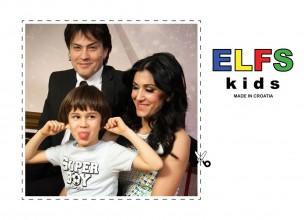 Obitelj Kalember Rucner u modnoj kampanji THE KIDS by ELFS