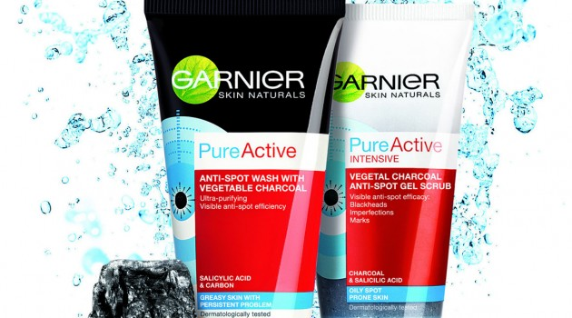 Pure Active Carbon piling i gel iz Garniera
