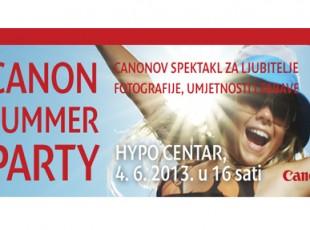 "Canon najavio ""Summer Party"""