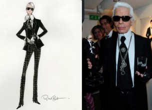 Figura Karla Lagerfelda utjelovljena u barbiku