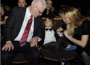 Predsjednik čuvao Severininog sina