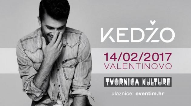 Damir Kedžo i Valentinovo u jedinstvenom koncertnom zagrljaju