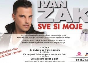 Ostvarite san i upoznajte Ivana Zaka!