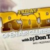 Open Air Clubbing!