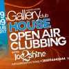 HOUSE music OPEN AIR Clubbing