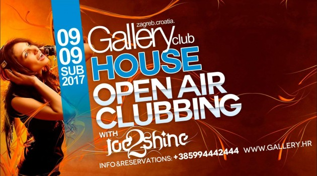 HOUSE music OPEN AIR Clubbing