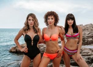 Glumice pokazale zamamna tijela u  Lisca kupaćem kostimu