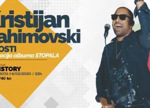 Vrijeme je za koncert  Kikija Rahimovskog, klub History 14.03.!