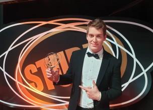 Jure Brkljača dobitnik Zlatnog Studija za najbolje novo lice glazbene scene!