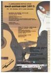 Plakat za 4. Omiš guitar fest