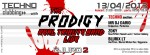 Techno Clubbing with The Prodigy - Real Tribute Band (live) @ Gjuro 2 (Zagreb, 13.04.2013) - FB banner