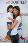 Iva Šarić i sin Carlos