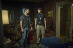 Sarchie (ERIC BANA) and Butler (JOEL McHALE) investigate the Alberghetti home, where strange things have been happening in Screen Gems' DELIVER US FROM EVIL.