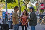 Eric Bana, Olivia Munn and Director Scott Derrickson on the set in the Bronx of Screen Gems' DELIVER US FROM EVIL.