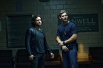 Sarchie (ERIC BANA) and Mendoza (EDGAR RAMIREZ) in Screen Gems' DELIVER US FROM EVIL.