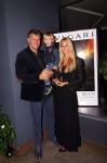 Dubravko Šimenc sa sinom Tomom i kćeri Nikom