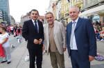 procelnika za sport Ivica Lovric, Gradonacelnik Milan Bandic, dekan KIF-a Damir Knjaz