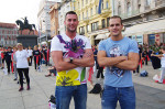 vaterpolisti Mladosti Marko Pavicic i Ivan Capan