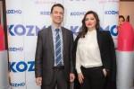 Predsjednik Uprave Kozma Krešimir Profaca i Nina Badric