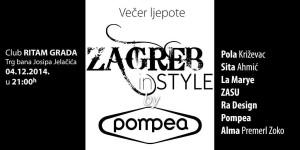 Zagreb IN Style by POMPEA NAJAVA EVENTA