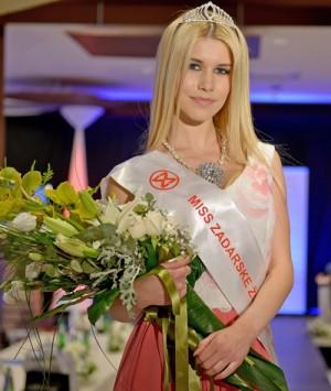 Anja Bijelić Miss Zadarske županije