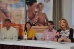 Dubravko Šimenc, Nera Stipičević, Filip Nola i prof dr sc Mirna Šitum na EMD pressici (photo by Petar Mandarić)