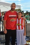 Vassilis Spanoulis s mladim igračem
