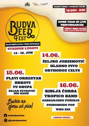 Budva Beer Fest vizual