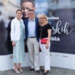 Sanja Putica, Veslko Grubisic sa suprugom Martom