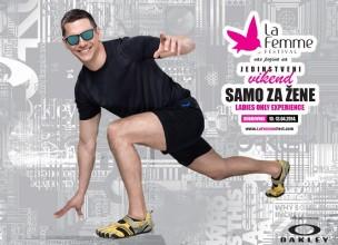 Oakley Frogskins službene naočale La Femme festivala
